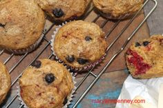 www.maryannpenney.com  Sweat Berry Muffins