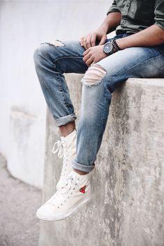 Comme des Garçons x Converse high-top sneakers