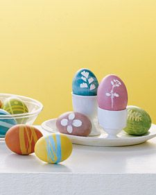Masked Easter Eggs | Step-by-Step | DIY Craft How To's and Instructions| Martha Stewart