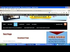 Empower Network -How To Create A Page (Invisible and Visible)