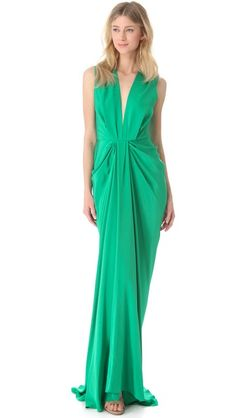 Thakoon Plunge Front Gown #dreambridesmaid