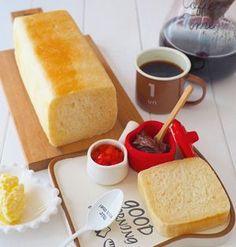牛乳パックで、ミニ食パン
