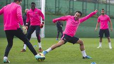 Entrenamiento 11/11/2014 | FC Barcelona