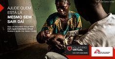 Seja um Voluntário virtual MSF!
