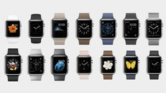 The entire Apple Watch collection.