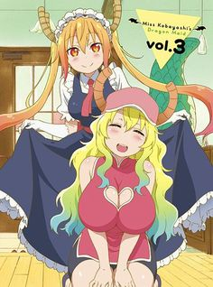 "Sugoi! ""Miss Kobayashi's Dragon Maid"" Ladies Become Anime Friends For Latest OVA Short"