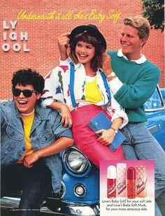 Love's Baby Soft ad, 1980s.