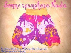 Sommer Pumphose / kurze bequeme Spielhose I gr 62 - 116