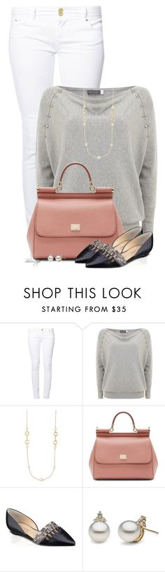 """Untitled #2261"" by sherri-leger ❤ liked on Polyvore featuring even&odd, Mint Velvet, The Limited, Dolce&Gabbana and Ivanka Trump"
