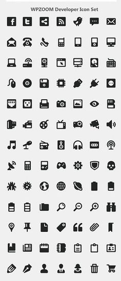 10 Awesome Free Icon Sets