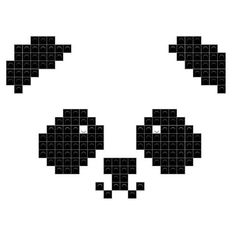 Mangekyou Sharingan, White Rabbits, Dogs Golden Retriever, C2c, Panda Bear, Art Designs, Pixel Art, Hello Kitty, Textiles