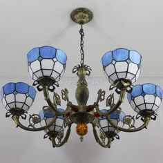 Grid Tiffany Lamp8S9-1BP6