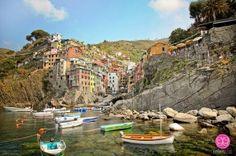 Riomaggiore Cinque Terre / Esther Lee #travel by Yasmine 67