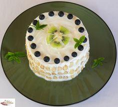 Sugar free Watermelon cake