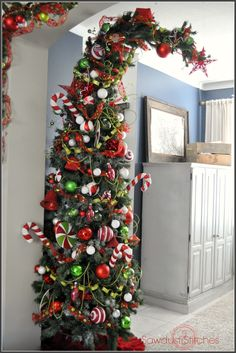 – How to make a Who-ville Tree !