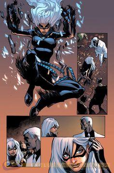 Amazing Spider-Man #5 - Black Cat by Humberto Ramos *