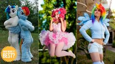My little pony friendship is magic costumes