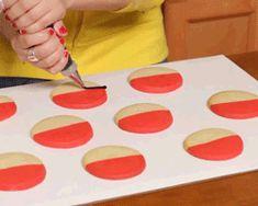 Pokeball Cookies