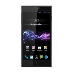"""Kruger&Matz LIVE 2 to stylowy smartfon z obsługą Dual SIM, szybkim procesorem i ekranem z matrycą IPS o przekątnej 5"""" działający pod kontrolą systemu Android w wersji 4.3 JellyBean.  Ekran Smartfon został wyposażony w ekran o przekątnej 5"""" o rozdzielczości HD 720 x 1280 px obsługujący 5-punktowy multidotyk. Ekran został pokryty odpornym na zarysowania szkłem Dragontrail Glass."""