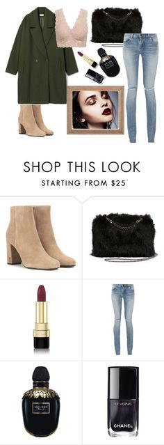 """""""Untitled #10"""" by notosuper on Polyvore featuring Yves Saint Laurent, STELLA McCARTNEY, Dolce&Gabbana, Alexander McQueen and Chanel"""
