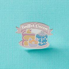 Buffet Queen Enamel Pin