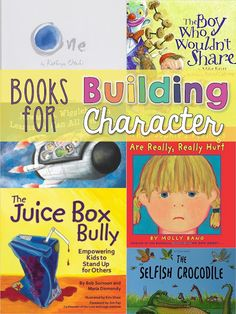 Building Character in students by encouraging problem solving and reading mentor texts about how to treat others.
