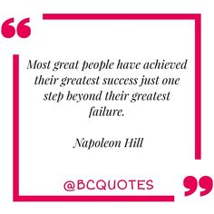 """Most great people have achieved their greatest success just one step beyond their greatest failure.…"" #quote #quotes #quoteoftheday #motivationalquotes #inspirationalquotes #lifequotes"