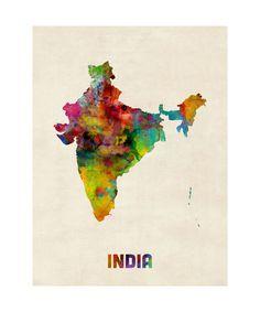 India Poster bij AllPosters.nl