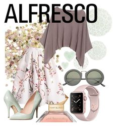 """""""Alfresco"""" by thebeautyko on Polyvore featuring Topshop, Tory Burch, Talking Tables, Lafayette 148 New York, SW Global, Kate Spade and contest"""