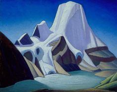 Lawren Harris Mount Robson from the North East , c. 1928 Group of Seven Group Of Seven Artists, Group Of Seven Paintings, Paintings I Love, Emily Carr, Canadian Painters, Canadian Artists, Landscape Art, Landscape Paintings, Winter Landscape
