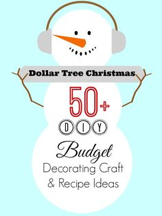 Dollar Tree #Christmas Decor Decorating Craft and Recipe Ideas | #christmasideas