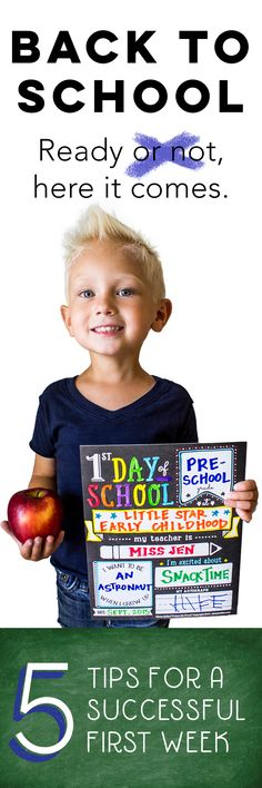 This is a must read! Great tips to make that first week just a little bit easier for all. First Day Of School, Pre School, Back To School, Craft Activities For Kids, Kid Crafts, My Teacher, Teacher Stuff, School Classroom, Classroom Ideas