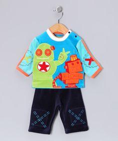 Indigo Carey Tee & Pants - Infant & Toddler