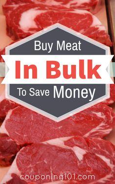 I'm no longer intimidated by the large packages of meats! This short video shows an easy tip for saving money by buying meat in bulk, plus how to freeze it.