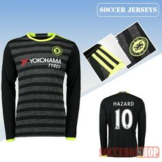 9abfa78ae Latest Chelsea Grey Black 2016 2017 Away Long Sleeve Soccer Jersey With  Diego Costa 19 Printing Replica Bargain From China