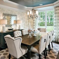 Dining Room Design Ideas, Pictures, Remodel and Decor