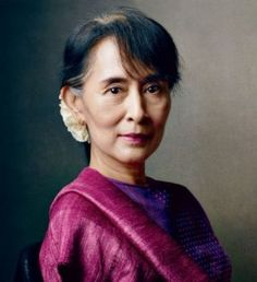 Aung San Suu Kyi has led the non-violent movement towards democracy in Burma from the late 1980s into the present. She is a symbol of hope under political oppression. #RaisingMsPresident