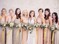 mixed bridesmaid dresses nashville