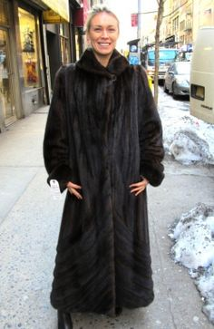 9819489fd68d7 New Natural Mahogany Mink Directional Coat Check out this spectacular  natural mahogany mink coat w