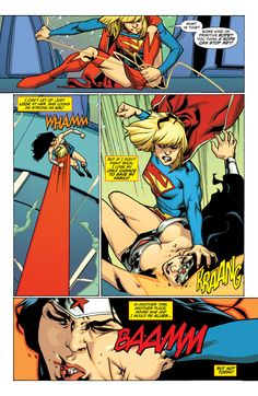 Post Crisis Supergirl vs New 52 Supergirl - Battles - Comic Vine