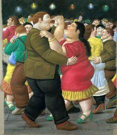 Fernando Botero plasticien colombien peint aussi à l'aquarelle
