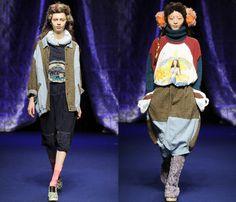 (2) Mercibeaucoup - Mercedes-Benz Fashion Week Tokyo: Japan Fashion Week: Denim & Jeanswear 2013-2014 Fall Winter Womens Runways I