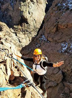 The #ViaFerrata is open year-round! 📸 via @_lauramartinez14 #FerrataFriday #adventure #colorado #royalgorge