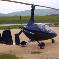 One of the coolest looking aircraft I've laid eyes on. Once upon a time almost bought a gyroplane.