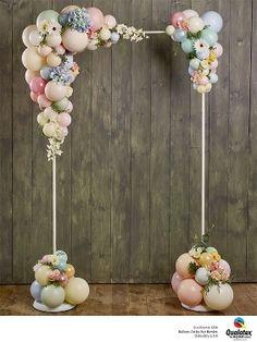 BalloonArt by Sue Bowler ( Birthday Balloon Decorations, Birthday Balloons, Birthday Party Decorations, Baby Shower Decorations, Wedding Decorations, Baby Shower Balloons, Christmas Decorations, Balloon Arch, Balloon Garland