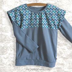 Guten Morgen! Wir machen heute BLAU und zeigen euch noch schnell, was wir dazu anziehen würden: Shirt VILLE gemixt mit unserem blauen Longshirt...Schönes Wochenende!  www.mypunctum.com Baby Kind, Shirts, Tops, Women, Fashion, Have A Good Weekend, Fall Winter, Good Morning, Dressing Up