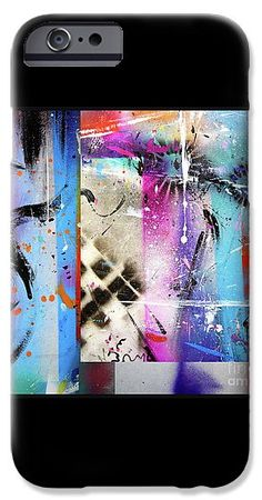 New Series IPhone 6s Case featuring the painting The Collage by Expressionistart studio Priscilla Batzell