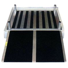 Shower Platform For Wheelchair Access