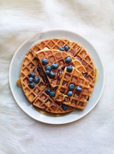 Ricardo's recipe: Classic Buttermilk Waffles