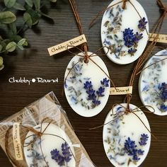 oval lavender air fresheners